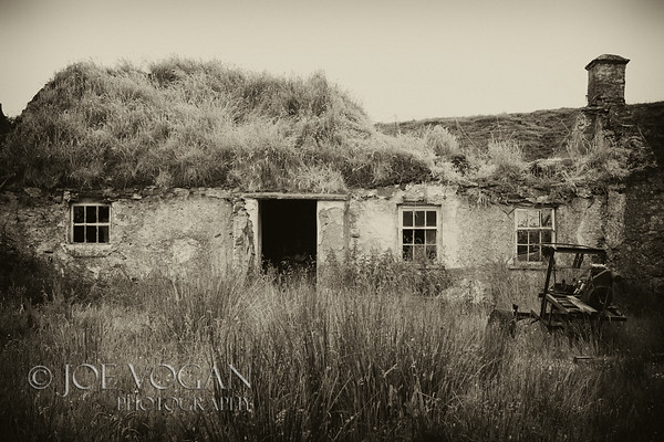 Turf House, Malin Head, Inishowen Peninsula, County Donegal, Ireland