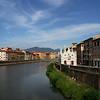"""""""Santa Maria della Spina"""" and the river Arno"""