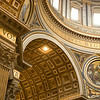 Papal Basilica of Saint Peter, Vatican City, in Rome, Italy