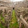 The Colosseum or Coliseum, originally Flavian Amphitheatre, City of Rome, Italy
