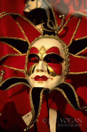 Carnival Mask, Venice, Italy