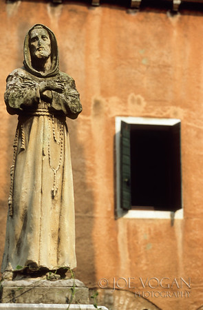 Cloister Statue, San Francesco della Vigna, St. Francis Church, Venice, Italy