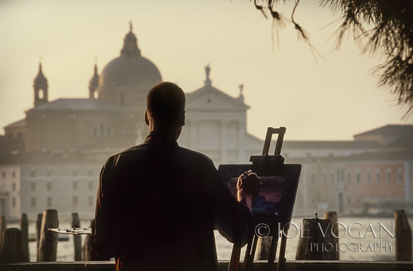 Artist, Venice, Italy