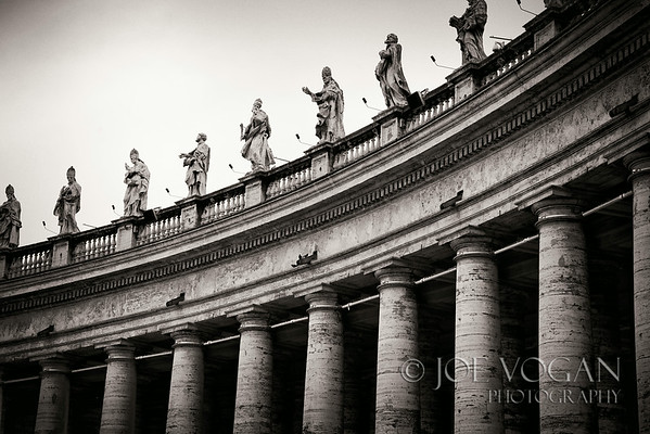 Saint Peter's Square, Vatican City near Rome, Italy