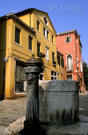 Fountain, Venice Neighborhood, Italy