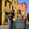 Fountain, Venice Neighborhood, Italy
