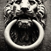Door Knocker, Florence, Italy