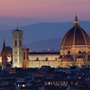 View of Florence, from Piazzale Michelangelo, Italy