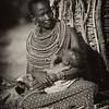 Woman and baby, Samburu Tribe, Samburu National Reserve, Kenya