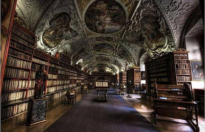 Strahov Theological Hall - Prague, Czech Republic