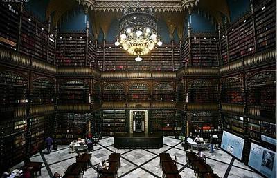 Real Gabinete Portugu's de Leitura - Rio de Janeiro, Brazil