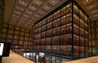 Yale University's Beinecke Rare Book and Manuscript Library - New Haven, Connecticut
