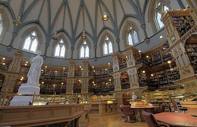 Canadian Library of Parliament - Ottawa, Canada