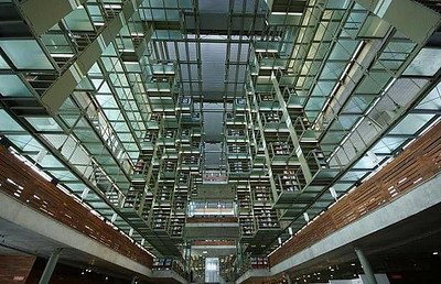 Jos Vasconcelos Library - Mexico City, Mexico