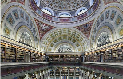 National Library of Finland - Helsinki, Finland