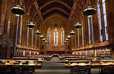Suzzalo Library at the University of Washington - Seattle, Washington