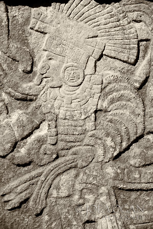 Carvings and Engravings, Chichen Itza, Yucatan, Mexico