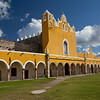 Franciscan Monastery, Izamal, Yucatan, Mexico named after San Antonio de Padua, completed in 1561