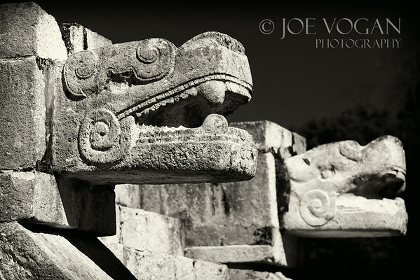 Platform of the Jaguars and Eagles, Chichen Itza, Yucatan, Mexico