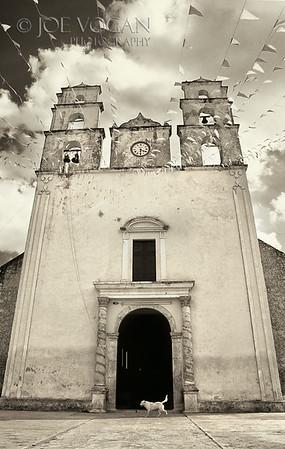 Colonial Church, Acanceh, Mexico