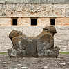 Throne of the Jaguar, Governor's Palace, Uxmal, Yucatan, Mexico