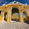 Franciscan Monastery, Izamal, Yucatan, Mexico named after San Antonio de Padua, completed in 1561