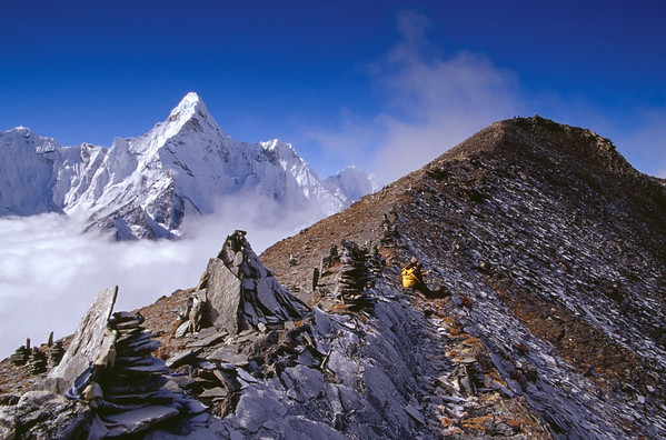 Chhukung Ri Ascent