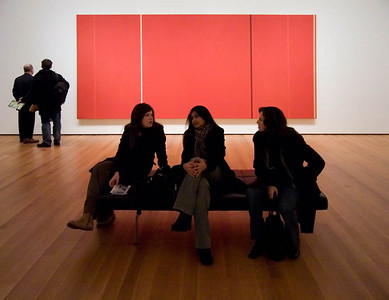 Friends at MoMA