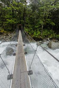 Routeburn River Suspension Bridge