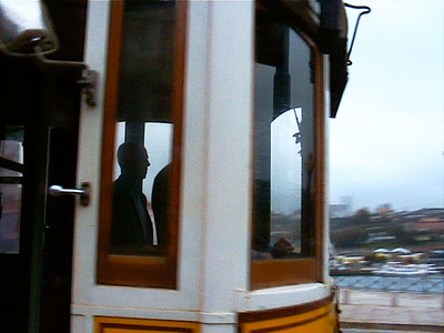 Motorman silhouette