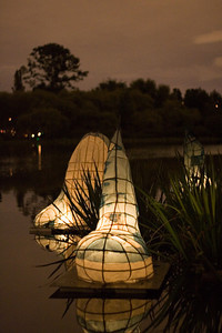 Lanterns in the lake