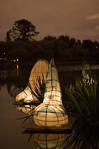Lanterns in the lake