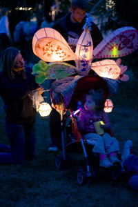 Lantern on a stroller