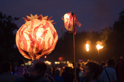 Lanterns and torches