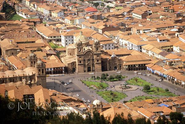 Town of Cusco, Peru