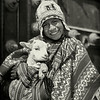 Boy with sheep, Cusco, Peru