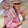 Quechua Woman and Baby, Pisac, Peru
