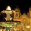 Fountain, Plaza de Armas, Cusco, Peru