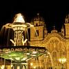 Fountain, Plaza de Armas, Cusco, Peru