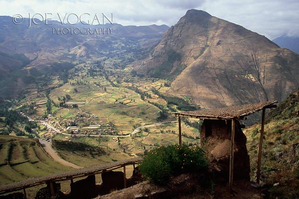 Inca Ruins, Pisac, Peru