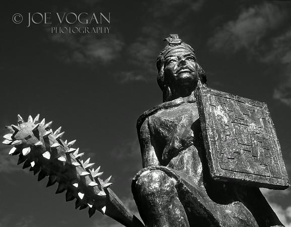 Ollantaytambo Statue, Peru