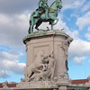 Bronze Statue of King Jose' I of Portugal