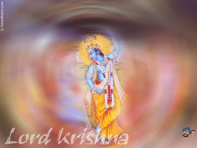 Krishna Hindu God - Avatar or incarnation of God Vishnu