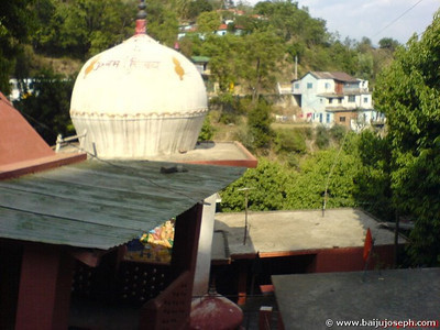 Mandir - on the way to Shimla