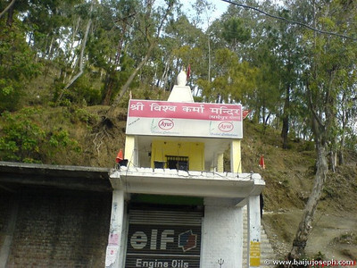 Shri Vishwakarma Mandir - on the way to Shimla