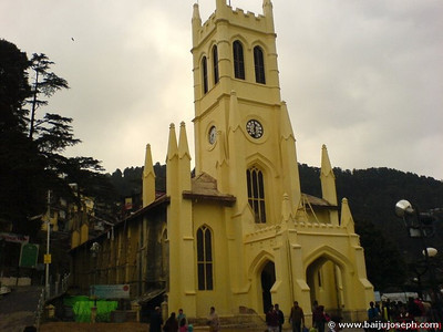 CNI Church, Shimla - One of the oldest ( 1844 )