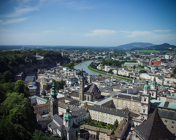View from Festung Hohensalzburg