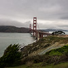 Golden Gate Bridge from Golden Gate Overlook.