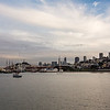 San Fran from the Aquatic Park Pier.