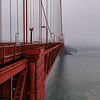 On Golden Gate Bridge.